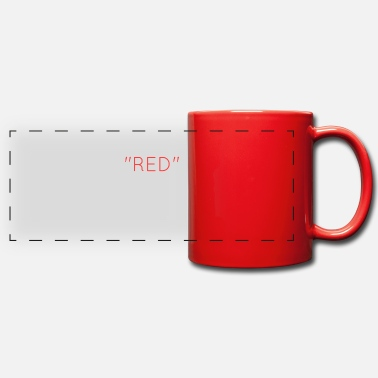 Red red - Panoramic Mug