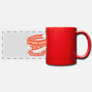 Punch You're either good at boxing, or you're not - Panoramic Mug