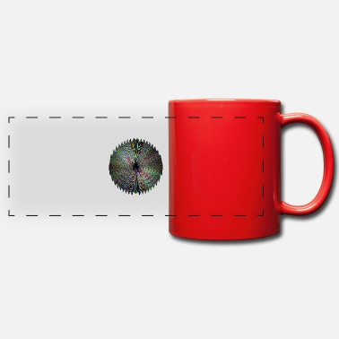 Dark Wave Dark waves of light - Panoramic Mug