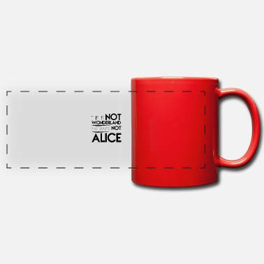 Alice WONDERLAND, GIFT - Panoramic Mug