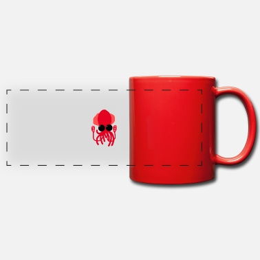 Deep Sea Deep-sea squid - Panoramic Mug