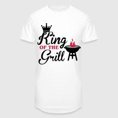 King of the Grill - König des Grills - Grillen - Mannen Urban longshirt