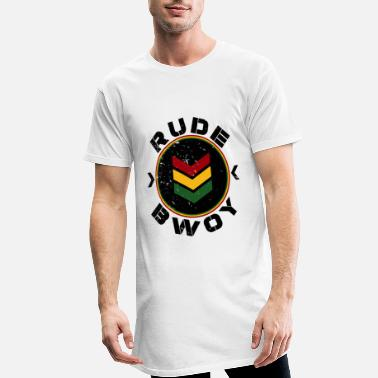Rude Rude Bwoy - T-shirt long Homme