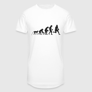 Evolution Football - Men's Long Body Urban Tee