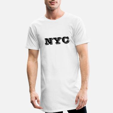 Nyc NYC - T-shirt long Homme