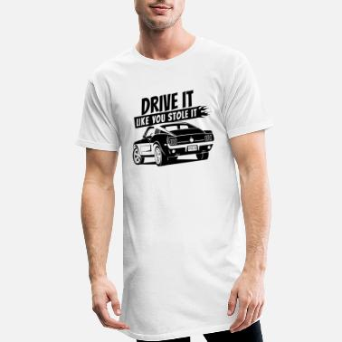 Drive it - Fastback 2 - Männer Longshirt