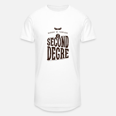 Second Degré Le second degré - T-shirt long Homme