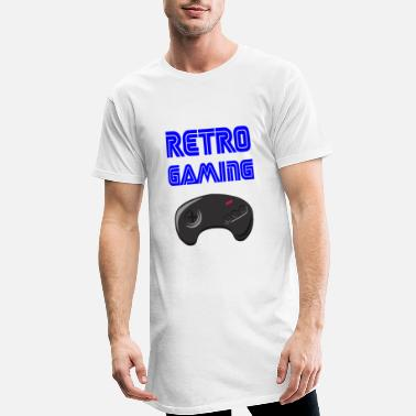 Retrogaming retrogaming - Lang T-skjorte for menn