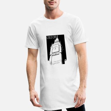 Open Open de Londres - T-shirt long Homme