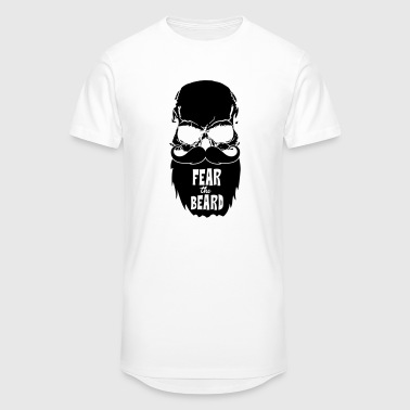 Fear the beard - Men's Long Body Urban Tee