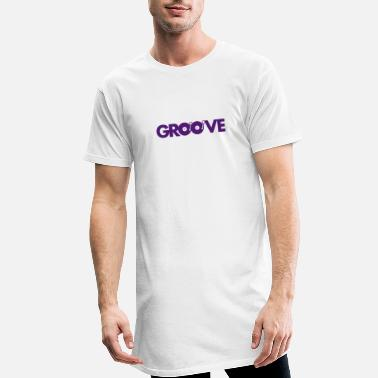 Groove Groove - T-shirt long Homme