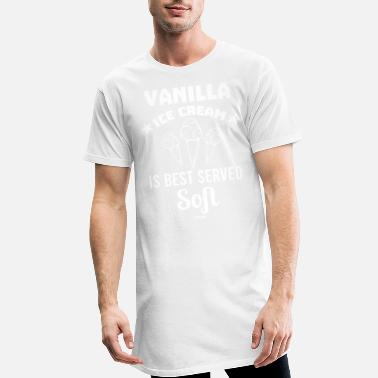 Naschen National Vanilla Ice Cream Day Softeis - Männer Longshirt