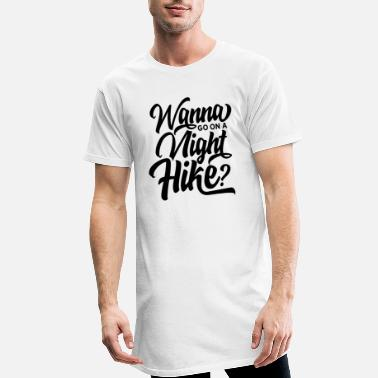 At Night Team night hike at night hikers night hikes - Men's Long T-Shirt