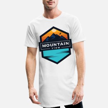View Mountain View View from the mountains for - Men's Long T-Shirt