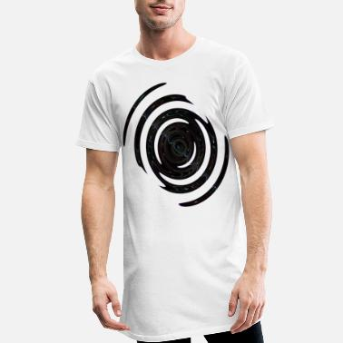 Painter Violet neon spiral - Men's Long T-Shirt