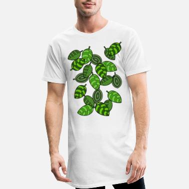 Leaves Leaves, leaves - Men's Long T-Shirt