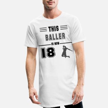 Softball Birthday gift for 18 years old basketball lovers f - Männer Longshirt