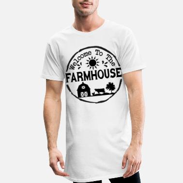 Farmhouse Welcome to the farmhouse - Men's Long T-Shirt