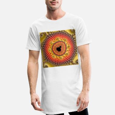 Geometry Fractal #X94 - Men's Long T-Shirt