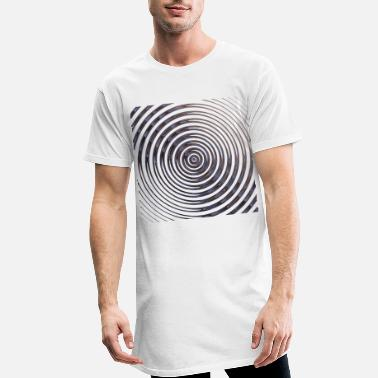 Brillant Spirale brillante, spirale brillante. - T-shirt long Homme