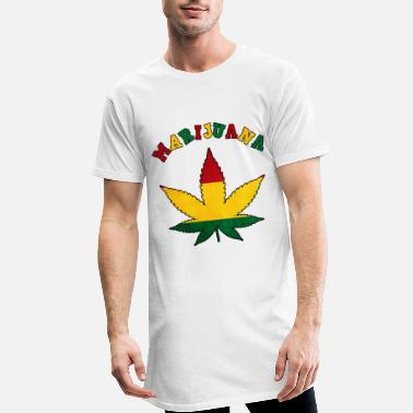 Cannabis cannabis cannabis cannabis haschisch chanvre tee shirt - T-shirt long Homme