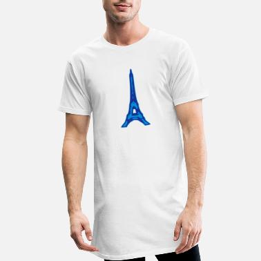 Eiffel Tower Eiffel Tower - Men's Long T-Shirt