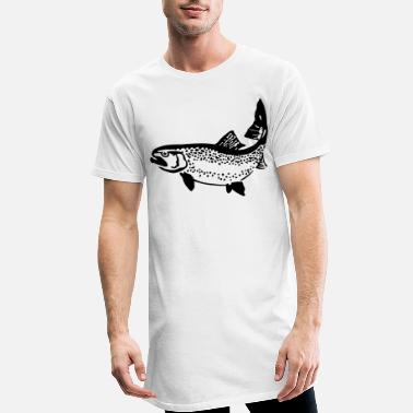 Trout trout - Men's Long T-Shirt