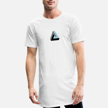 Optical Illusion Illusion - Men's Long T-Shirt