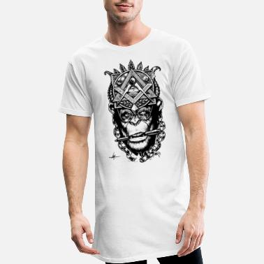 Simio Masonico - T-shirt long Homme