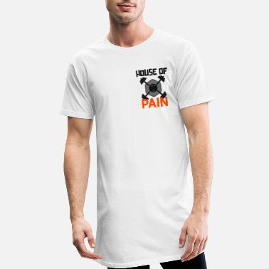 House House of PAIN musculation musculation fitness fitness - T-shirt long Homme
