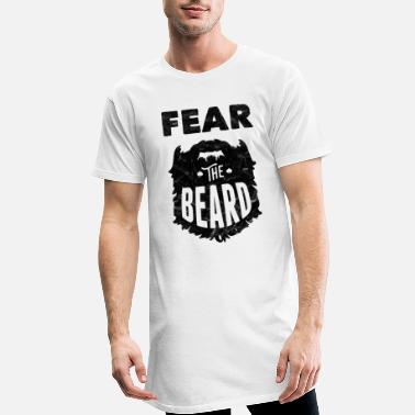 Barbe Barbe barbe peur la barbe - T-shirt long Homme