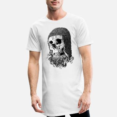 Templar Knights templar skull - Men's Long T-Shirt