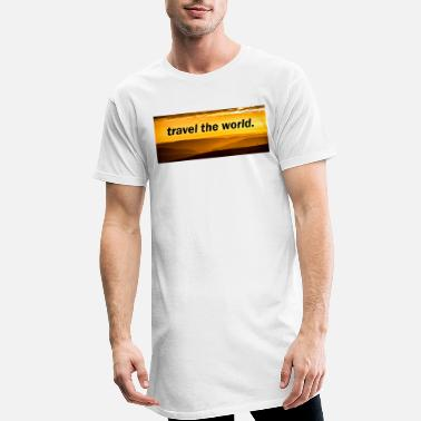 Travel Travel the world. - Männer Longshirt