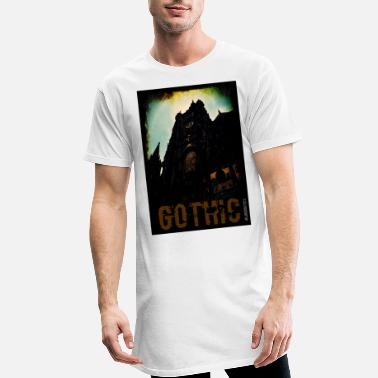 Gothic Dark Gothic - Men's Long T-Shirt