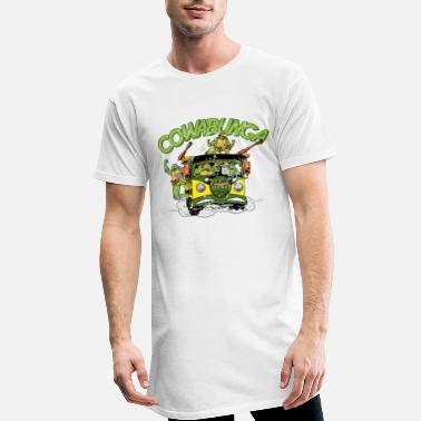 Mutant TMNT Turtles Cowabunga Bus Tour - Mannen Longshirt