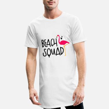 Beachparty Beach squads - Lang T-skjorte for menn