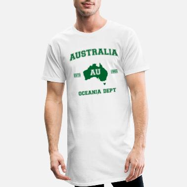 Map Australia map - Men's Long T-Shirt