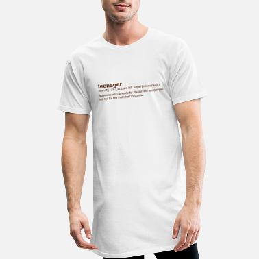 Teenager Definition of Teenager - T-shirt long Homme