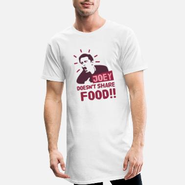 Joey Joey-doesnt-share-food-rood - Mannen Longshirt