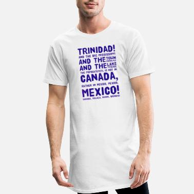 Lake Titicaca Trinidad! Mississippi, Honolulu, Titicaca, MEXICO! - Men's Long T-Shirt