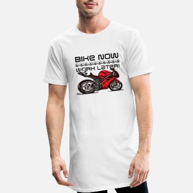 Desmo Superbike comic-style - Men's Long T-Shirt
