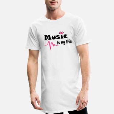 Music is my life 2 - Männer Longshirt