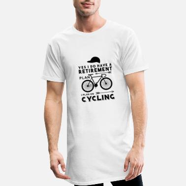 Cycling I play on cycling - Men's Long T-Shirt