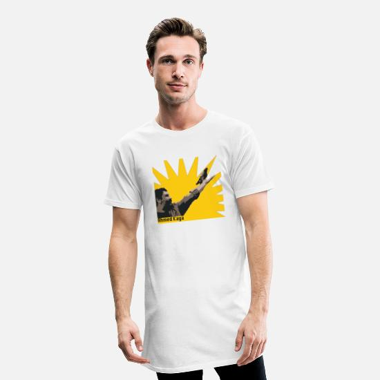 Irak T-Shirts - Ahmed Kaya - Men's Long T-Shirt white