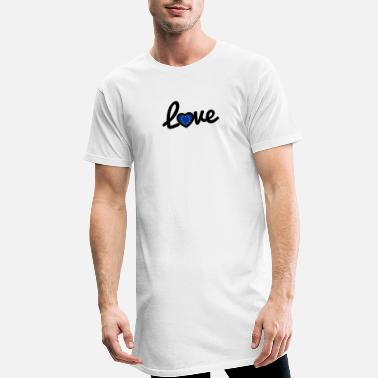 We Love Europe Love - Europe - Männer Longshirt