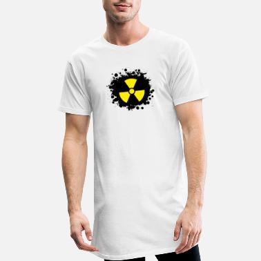 Yellow Radioactivity Symbol Yellow / yellow Radioactive, radioactivity symbol - Men's Long T-Shirt