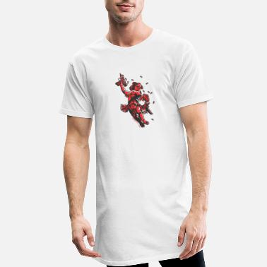 Cool Cupid's Arms - Men's Long T-Shirt