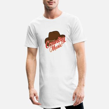 Country Music Country music - Männer Longshirt