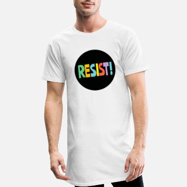 Resistance Resist - Men's Long T-Shirt