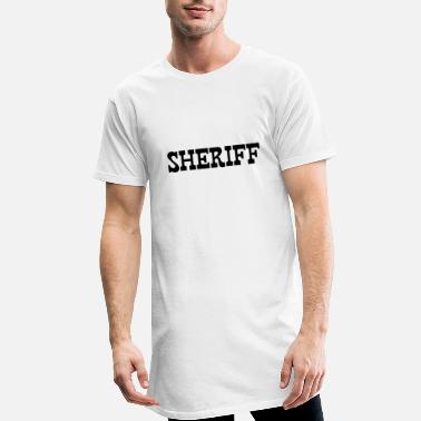 Shérif SHERIFF - T-shirt long Homme